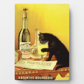 Absinthe Bourrgeois Table Plaque With Easel