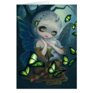 """Absinthe Butterflies"" Greeting Card"