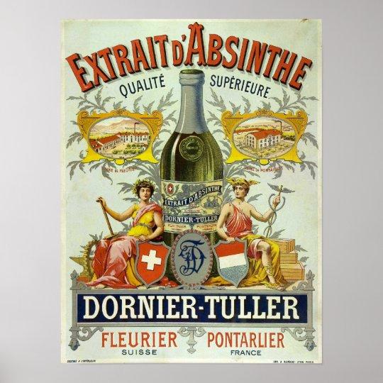 Absinthe Dornier-Tuller Poster