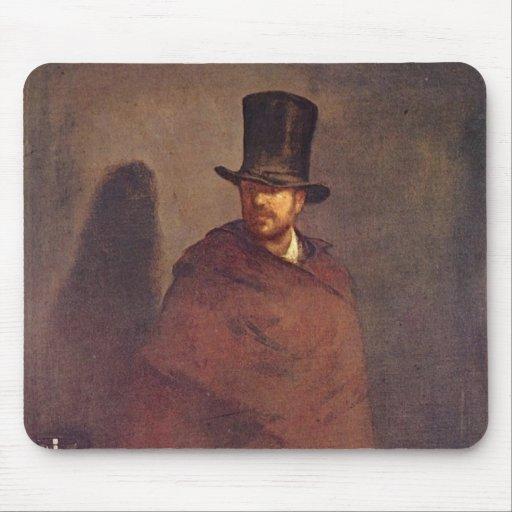 Absinthe Drinker - Edouard Manet Mousepads