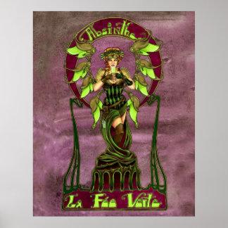 Absinthe Fairy Poster