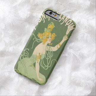 Absinthe Green Fairy Art Nouveau Vintage Barely There iPhone 6 Case