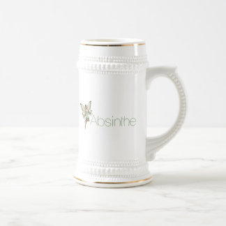 Absinthe Green Fairy In 3D Mug