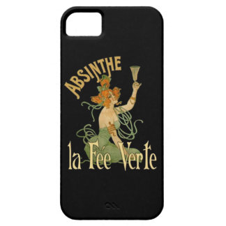 Absinthe Green Fairy La Fee Verte,Poster Steampunk Barely There iPhone 5 Case