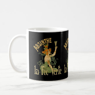 Absinthe Green Fairy La Fee Verte,Poster Steampunk Coffee Mug