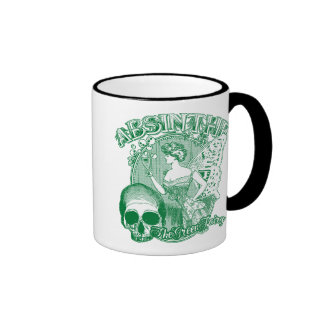 Absinthe Green Fairy Lady Mug