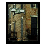 Absinthe House Bar Poster