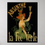 Absinthe La Fee Verte Print