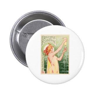 Absinthe Robette 6 Cm Round Badge