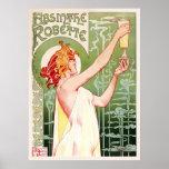 Absinthe Robette (Cream) Posters