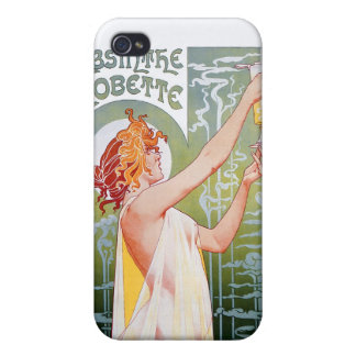 Absinthe Robette Case For iPhone 4