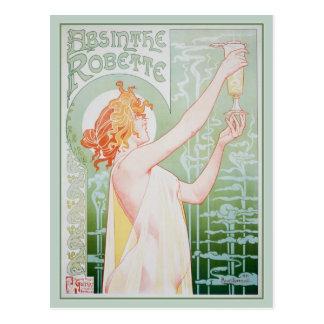 Absinthe Robette (Mint) Postcard
