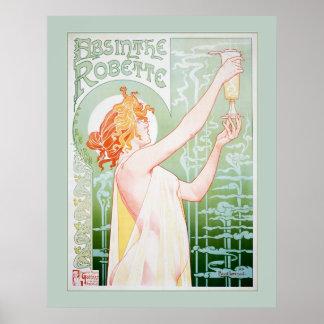 Absinthe Robette (Mint) Poster