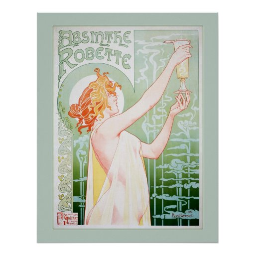 Absinthe Robette (Mint) Posters