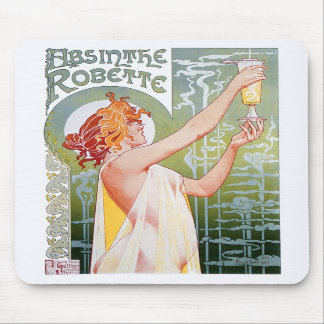 Absinthe Robette Mouse Pads