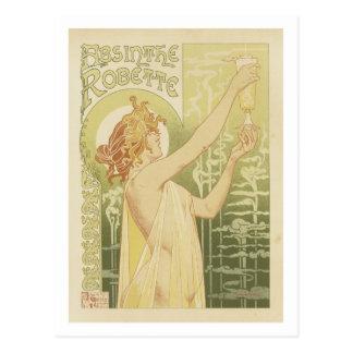 Absinthe Robette Postcards