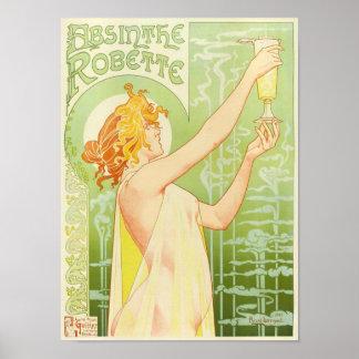 Absinthe Robette, Privat-Livemont Fine Art Poster