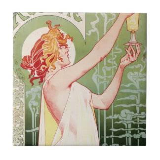 Absinthe Robette Small Square Tile