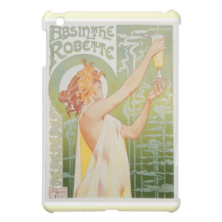 Absinthe Robette Vintage Drink Ad Art Cover For The iPad Mini
