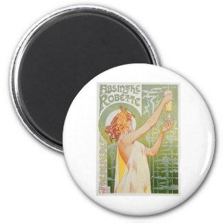 Absinthe Robette Vintage Drink Ad Art Magnets