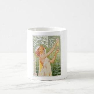 Absinthe Robette Vintage Drink Ad Art Mugs
