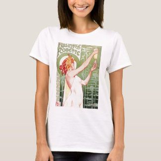 Absinthe Robette - Vintage French Ad T-Shirt