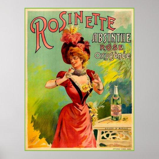 Absinthe Rosinette Poster