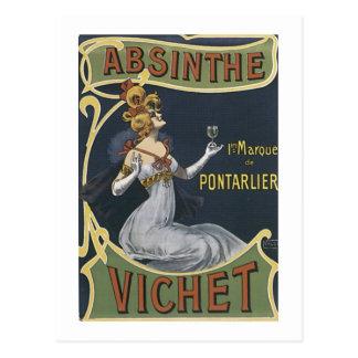 Absinthe Vichet Postcard