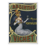 Absinthe Vichet Print