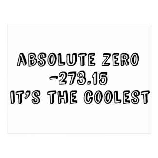 Absolute Zero It s the Coolest Postcards