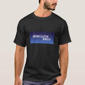 absolute zero men's t-shirt