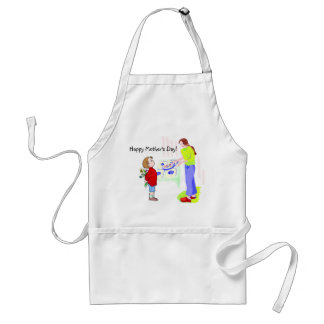 Absolutely Adorable Happy Mother's Day Apron