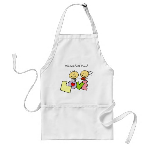 Absolutely Adorable Worlds Best Mom Apron