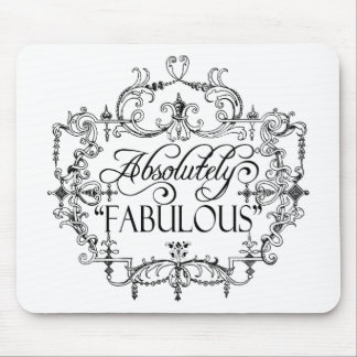 Absolutely Fabulous Mouse Pad