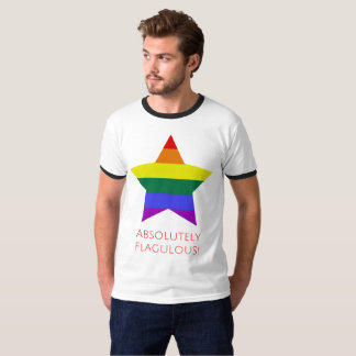 Absolutely Flagulous - Fabulous Rainbow Gay Rights T-Shirt