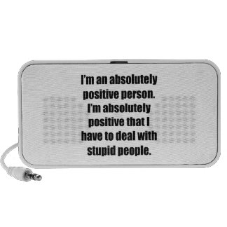 Absolutely Positive Person Portable Speaker
