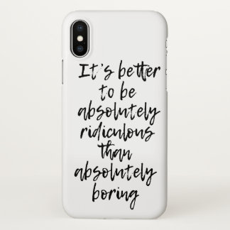 Absolutely Ridiculous Iphone X Case