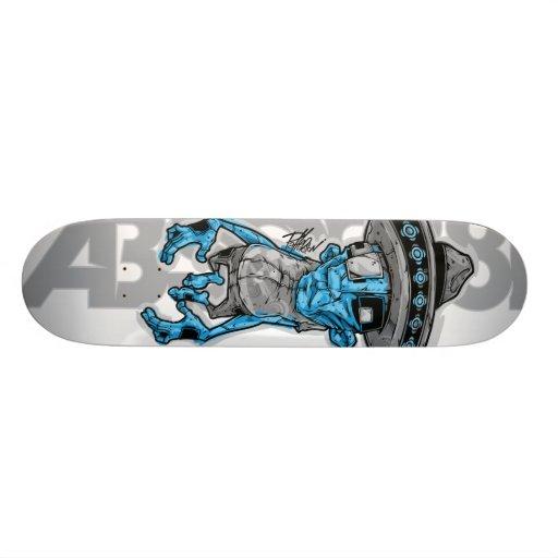 ABSORB81_Sombrero Custom Skate Board