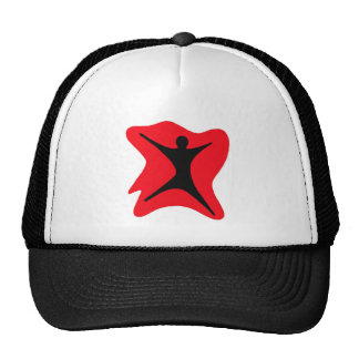 Absract Guy Mesh Hat