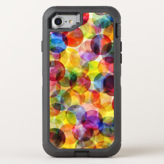 Absract Polka Dots OtterBox Defender iPhone 7 Case