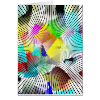 Abstact Colorful Note Cards