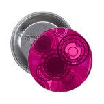 Abstact Pink Circles Pins