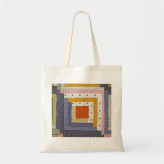 Abstarct Patch Budget Tote Bag