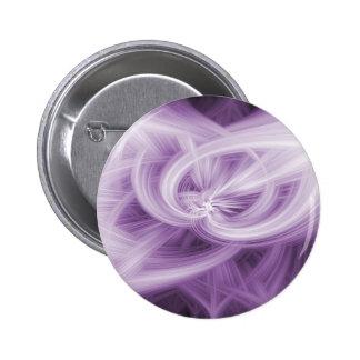 Abstarct purple 6 cm round badge