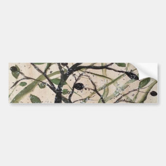 Abstracet Olive Tree Bumper Sticker