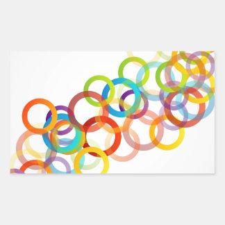 abstract09 jpg rectangular sticker