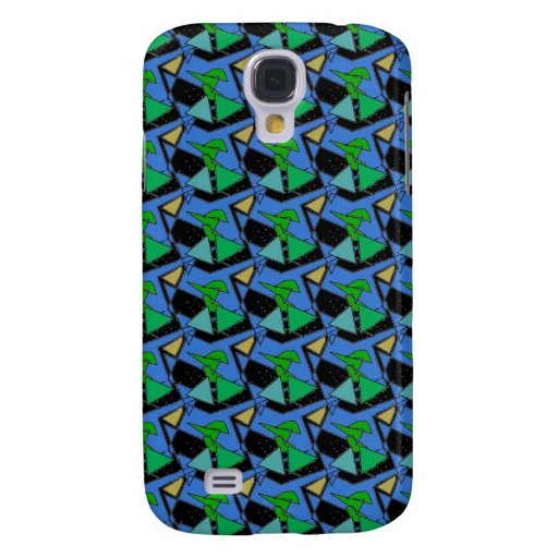 Abstract61b Skin Galaxy S4 Cover