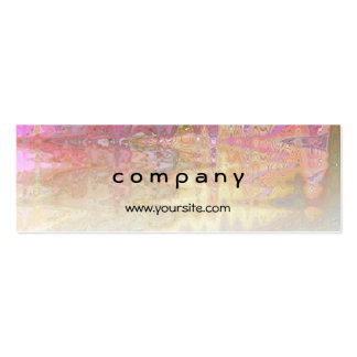 Abstract 10-19 Colorful Pack Of Skinny Business Cards