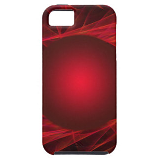 abstract-12red-ball iPhone 5 cover