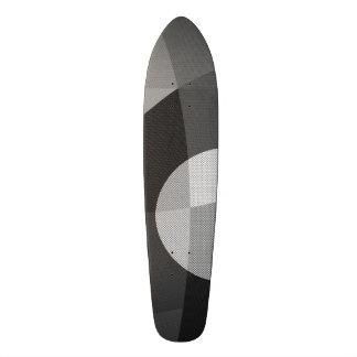 abstract 18.1 cm old school skateboard deck